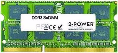 Picture of 2-Power  2GB MultiSpeed 1066/1333/1600 MHz SoDiMM