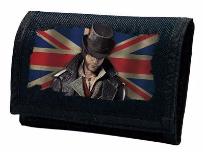 "Assassin's Creed Syndicate - ""Jacob Union Jack"" Navy Kids Wallet"