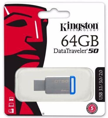 Kingston Datatraveller DT50/64GB 64GB USB 3 Memory stick