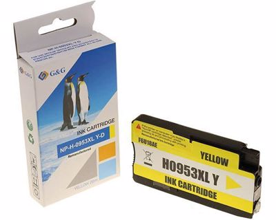 HP 953XL Yellow Compatible Ink Cartridge (G&G)