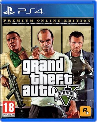 Grand Theft Auto 5 - Premium Online Edition ( PS4 )