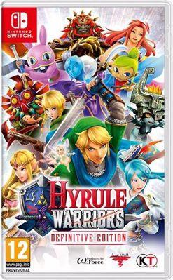 Hyrule Warriors Definitive Edition ( NS )