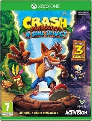 Crash Bandicoot N Sane Trilogy ( XBOX ONE )