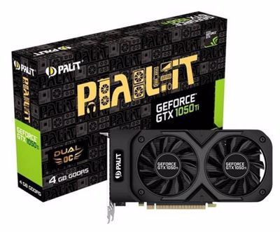 Palit GeForce GTX 1050 Ti Dual OC Graphics card
