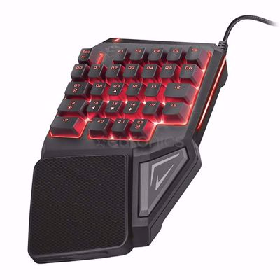 Trust GXT 888 ASSA SINGLE HANDED KEYBOARD