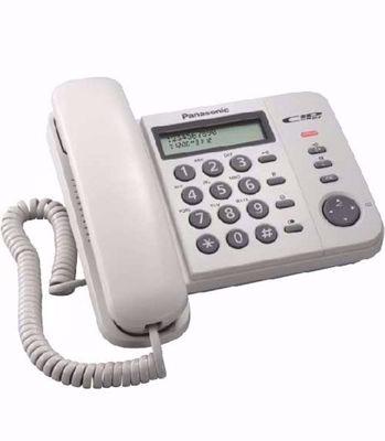 Panasonic KX-TS560EX2B Άσπρο Σταθερό Ψηφιακό Τηλέφωνο