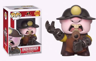 POP! Disney: Incredibles 2 - Underminer #370