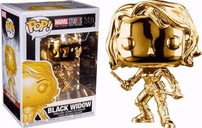 POP! Marvel Studios - Black Widow (Chrome) #380