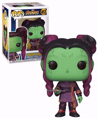 POP! Marvel: Infinity War - Young Gamora (with Dagger) #417