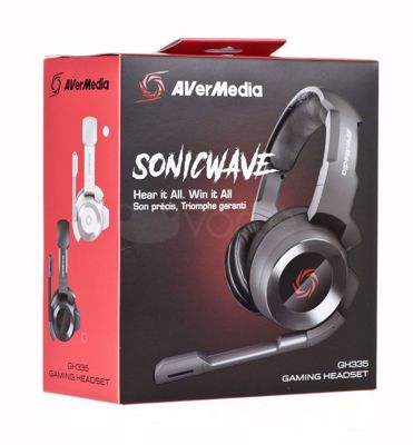 Headset Avermedia SonicWave GH335 Black