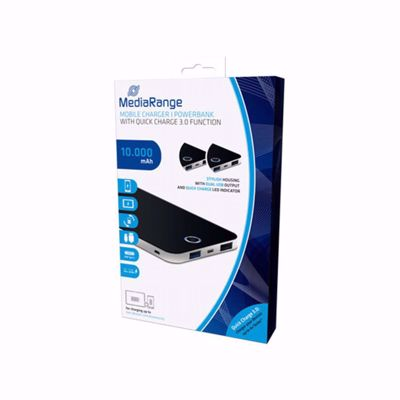 MediaRange Mobile Charger / Powerbank 10000mAh