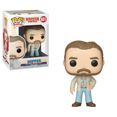 Funko POP! Television: Stranger Things - Hopper #801