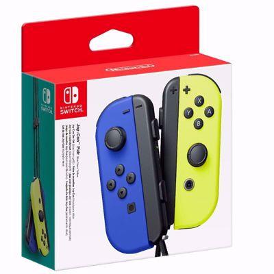 Nintendo Switch Joy-Con Pair Blue/Neon Yellow