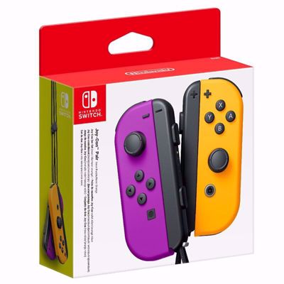 Nintendo Switch Joy-Con Pair Neon Purple/Neon Orange