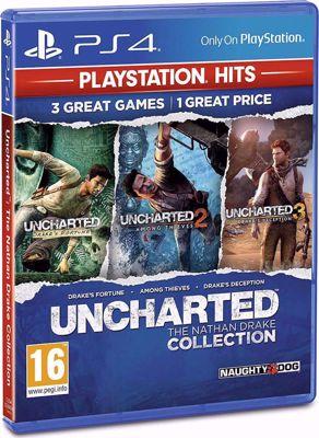 Uncharted The Nathan Drake  - PLAYSTATION HITS ( PS4 )