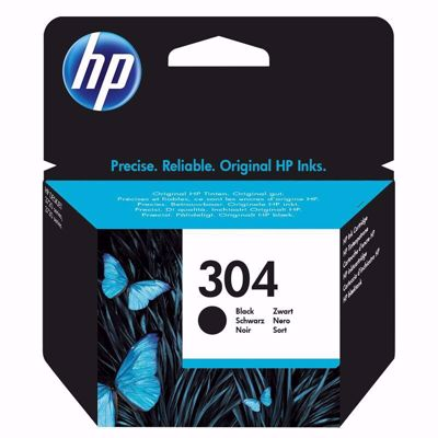 HP 304 Black Μελάνι
