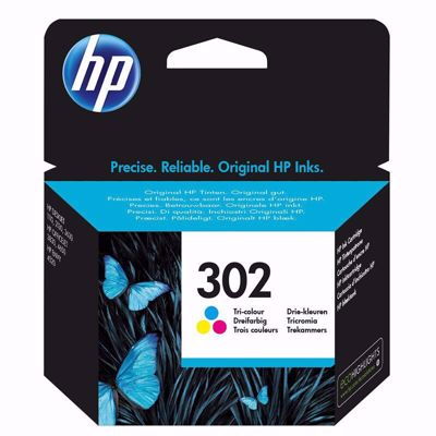 HP 302 Μελάνι Colour