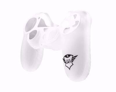 GXT 744T Rubber Skin for PS4 controllers - transparent