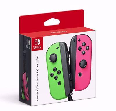 Nintendo Switch Joy-Con Pair Neon Green/Neon Pink
