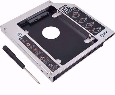 LOGILINK AD0017 UNIVERSAL 2ND SATA HDD CADDY 9.5MM