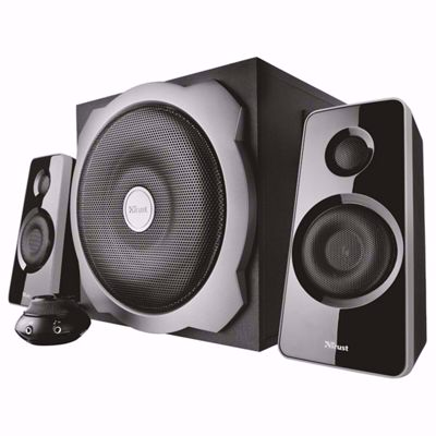 TRUST TYTAN 19020 2.1 Speakers 60 Watt RMS (BLACK)