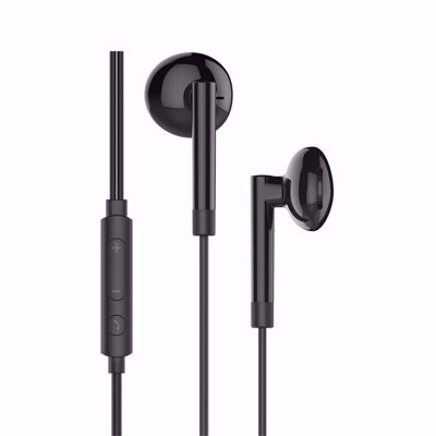 HOCO M53 Earphones with remote and Microphone - black