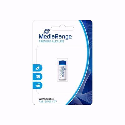 Αλκαλική Μπαταρία MediaRange 6LR23 Premium A23 12V (MRBAT114)