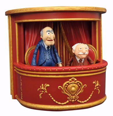 Muppets Select - Statler & Waldorf 2-Pack Action Figures - Φιγούρα
