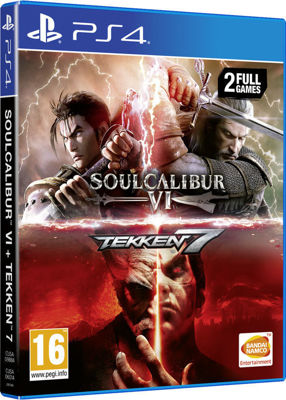 Soulcalibur VI - Tekken 7 ( 2 Full Games PS4 )