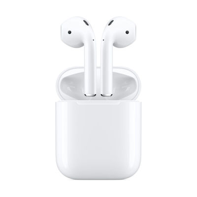 Apple Bluetooth Airpods with Charging Case Λευκό