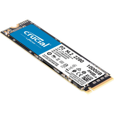 Crucial P1 1TB 3D NAND NVMe PCIe M.2 SSD Εσωτερικός Σκληρός Δίσκος