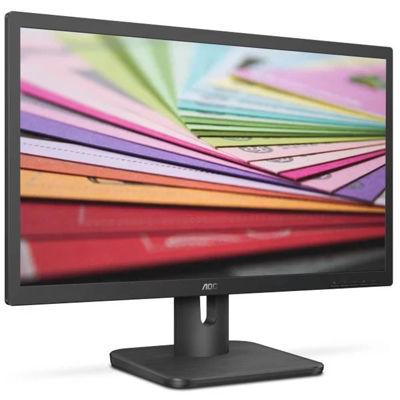 Aoc 22e1d 22-inch, Tn Monitor, 1920x1080, 2ms, Hdmi, Dvi, Vga, Speakers, Black