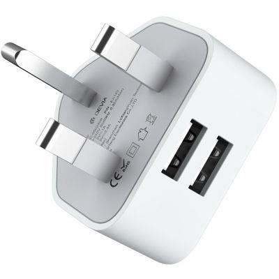 DEVIA Smart Series 2.4A UK Charger (UK, 5V 2.4A,2USB)