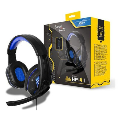 STEELPLAY HP41 WIRED GAMING HEADSET - ΜΠΛΕ