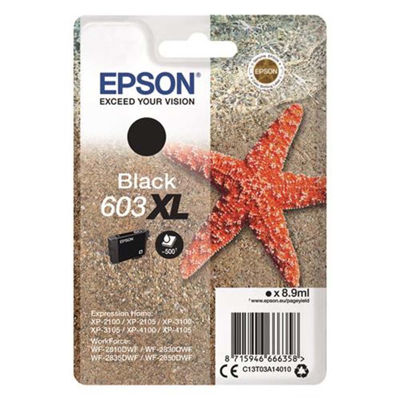 Epson Μελάνι Epson 603XL Black