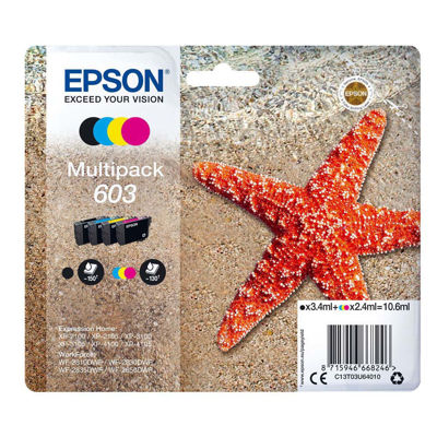 Epson Μελάνι Epson 603 (BK-C-M-Y) Multipack