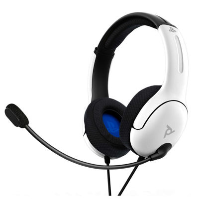 PDP LVL40 Wired PS4/PS5 - WHITE - Gaming Headset