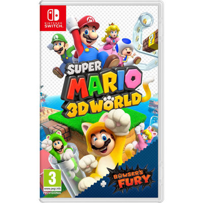 Super Mario 3D World + Bowser's Fury ( NS )
