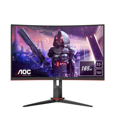 AOC C27G2U/BK black/red, FullHD, AMD Free-Sync, 165 Hz, 165Hz Panel (C27G2U/BK)