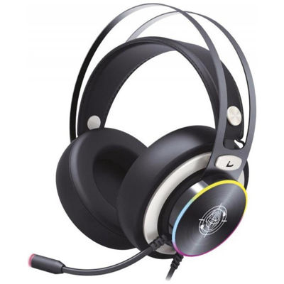 Zeroground - Gaming Headset USB 7.1 HD - Sokun RGB 2800G - Μαύρ
