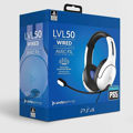 PDP Gaming Headset LVL50 PS4/PS5 WHITE