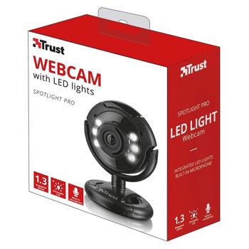 TRUST SPOTLIGHT - Web camera Pro - with LED lights