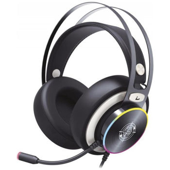 Zeroground - Gaming Headset USB 7.1 HD - Sokun RGB 2800G - Μαύρ
