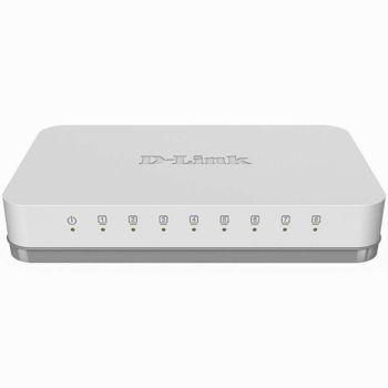 D-Link 8-Port Gigabit Switch - Διακόπτης Gigabit 8 Θυρών