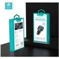 Devia - 20W Power Delivery USB-C & Qualcomm 3.0 USB Port Car Adapter - Black