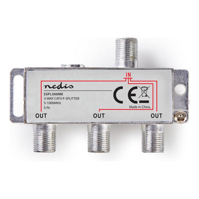 NEDIS Satellite Splitter 3 OUTPUTS - SSPL300ME
