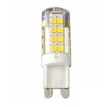Λαμπτήρας οικονομίας 51 LED G9 / 5W, ψυχρό φως 6500K με περίβλημα σιλικόνης