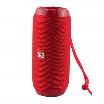 T&G TG117 Φορητό Ασύρματο Επαναφορτιζόμενο Ηχείο Bluetooth με FM/USB/TF/AUX Χρώματος Μαύρο