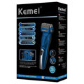 Kemei ΚΜ-2803 Ξυριστική Μηχανή Προσώπου Επαναφορτιζόμενη