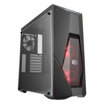 COOLER MASTER MASTERBOX K500L / MID TOWER / ATX / NO POWER SUPPLY (ATX) / BLACK / USB/AUDIO | MCB-K500L-KANN-S00